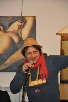 Presentazione della mostra d'arti visive ARTISTICAMENTE presso la Badalucco art gallery.  4 marzo 2017