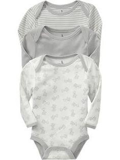 Little Bundles Bodysuit 3-Packs for Baby | Old Navy