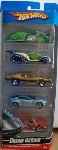 Hot Wheels 5 Pack Dream Garage by Mattel. $9.95