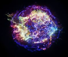 Cassiopeia A as pictured by NASA's Chandra X-ray Observatory (Image: NASA/CXC/SAO)