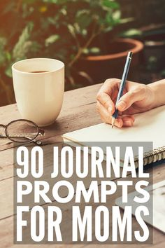 # 90 journal prompts for women to encourage self-care, improve mental health, and decrease feelings of anxiety and depression. 90 Journal Prompts for Moms Ginger Benefits, Health Benefits, Health Tips, 30 Day Writing Challenge, Clean Arteries, Self Discovery, Oral Health, Mental Health, Health Care