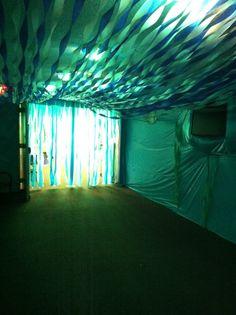 underwater hallway for weird animals vbs