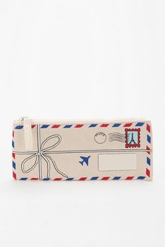 Trompe L'Oeil Pencil Case  #UrbanOutfitters...SOMEBODY GET THIS FOR ME!