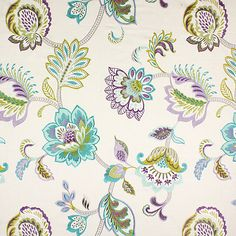Symphony 8 - Tessuti arredo a fiori- tessuti.com