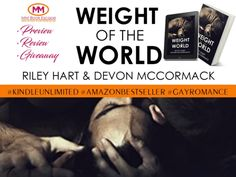 #Review #NewRelease •Weight Of The World by Riley Hart & Devon McCormack