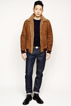 Crew Fall/Winter their latest collection during New York Fashion Week as usual, J.Crew unveiled a range with a casual confidence. Men's Collection, Winter Collection, Vogue Paris, Mr Men, Mens Trends, J Crew Men, Mens Fall, Fall Winter 2014, Fall 14