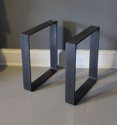 EXPÉDIÉ en 24 HRS jambe de métal banc jambe pied de par DendroCo