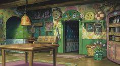 "La cucina del film ""Arrietty"" di Hiromasa Yonebayashi. Carefully selected by Gorgonia www.gorgonia.it"