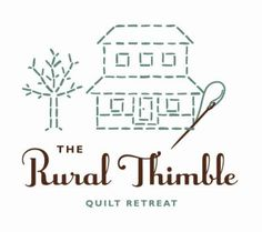 rural thimble quilt retreat in Charm, Ohio- three weeks, two days and counting!