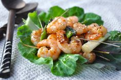 Wok this way! After watching 'Gok cook Chinese' last night, I was feeling a little inspired, so check out my Oyster and Ginger Tiger Prawns with lemongrass. www.lovemygrub.blogspot.com