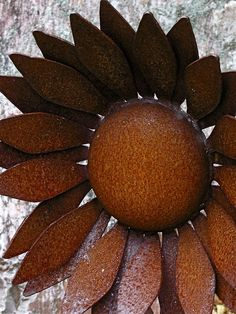 Rusty Sunflower