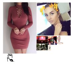 """""""💅🏼Kennedy 💅🏼-You Picked A Strip Club Over Me?!"""" by banks-on-it ❤ liked on Polyvore featuring Gianvito Rossi"""