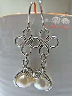 wire jewelry design ideas | Wire Wrap Jewelry and Tutorials by WireBliss: Simple techniques and ...