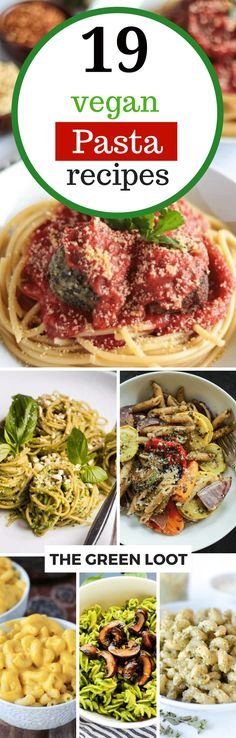 These vegan pasta recipes are full of healthy veggies and are super creamy. From simple one pot to pesto pasta, you'll find your favorite for sure! Enjoy! | #vegan