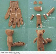 wiewiórka z rękawiczki na Stylowi.pl   un gant = un écureuil !!