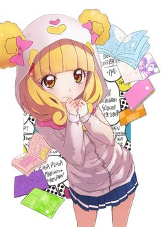 smile precure candy fan art - Google Search