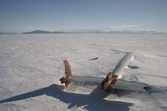 * Abandoned plane