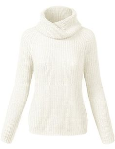 d33468b39f Luna Flower GSWW005 Women s Long Sleeve Cable Knit Turtle Neck Sweater Top  at Amazon Women s Clothing store