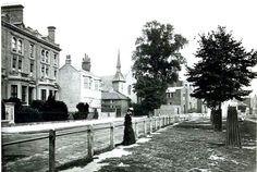 1876 Brook Green. London Neighborhoods, Victorian London, Slums, London Photos, West London, Olympia, Vintage Photos, The Neighbourhood, Chelsea