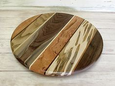 Lazy Susan Fourteen and Three Quarters Inches Round by foodiebords, $74.27