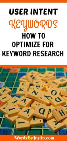 User Intent Keywords: How to Optimize For Keyword Research Seo Guide, Seo Tips, Make Money Blogging, Blogging Ideas, Seo For Beginners, Blog Topics, Wordpress Template, Social Media Tips, How To Start A Blog