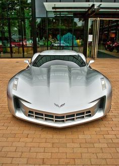 Corvette concept car