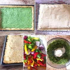 How to make Niomi Smart's roasted onion and pepper pesto tart gluten free! <3