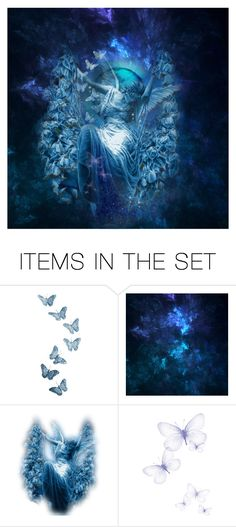 """""""Flower garden in the void"""" by lmimi ❤ liked on Polyvore featuring art"""