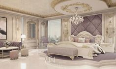 "Charles Neal on Instagram: ""#charlesneal #glam #luxury #bedroom #bedroomdecor #palace #interiordecor #instagood #interiordesign #glamour"""