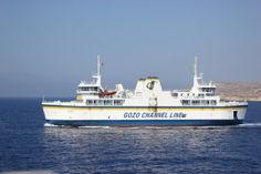 Gozo Ferry which we use when diving on the island of Gozo