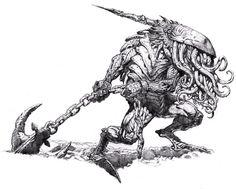 Murguba by on DeviantArt Dnd Monsters, Oblivion, Cthulhu, Fantasy Artwork, Concept Art, Beast, Horror, Character Design, Creatures