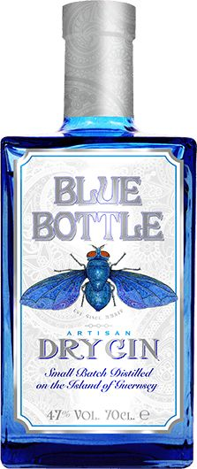 Blue Bottle Gin - Artisan gin from Guernsey. I just wish I could have carried it!