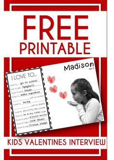 If you are anything like me and wait until the last minute to plan fun activities, make a craft or give a gift.then this list of fun activities, crafts, gifts and keepsakes is for you! With 4 free printables! My Funny Valentine, Easy Valentine Crafts, Valentines Day Activities, Valentines For Kids, Activities For Kids, Preschool Ideas, Printable Valentine, Holiday Activities, Preschool Crafts