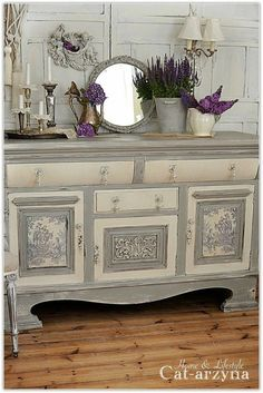 French sideboard.