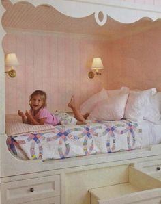 Little Girls Bed aimeeontheradio