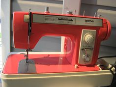 Vintage Sewing Machine: Brother Festival 451 | NitaDances
