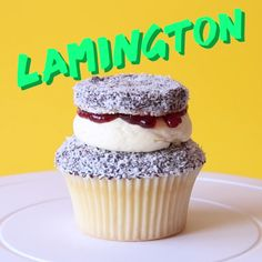 An Australian icon, an Australian staple. Chocolate, vanilla and coconut re-imagined into a cupcake for you guys to enjoy!