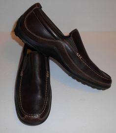 Cole Haan Tucker Venetian Slip-On Driving Brown Leather Shoes Men's Size 13 M #ColeHaan #LoafersSlipOns