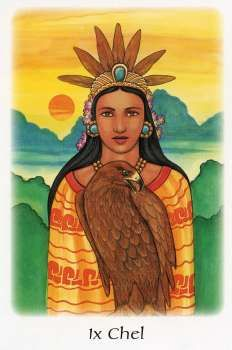 IX CHEL - Goddess of the Moon Your inner being alone knows the way.