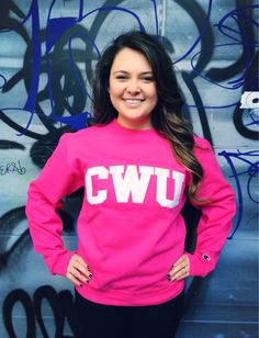 Hot Pink is the new Crimson, is it not?! Central Washington University. CWU. - CWU Wildcats Shop Online: http://cwubookstore.collegestoreonline.com/ePOS?form=item.html&item=04517183346&store=201