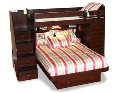 Berg twin over full bunk bed