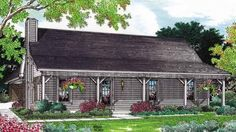 Eplans Farmhouse House Plan - Relaxed Country Style - 1244 Square Feet and 3 Bedrooms from Eplans - House Plan Code HWEPL05737