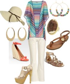 """Beachy Neutrals"" by cyberpenguin Wardrobe Planner, Capsule Wardrobe, Get Dressed, Women's Fashion, Fashion Tips, Style Guides, Style Me, Polyvore, Stuff To Buy"