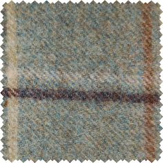 Sanderson Woodford Plaid is the largest design woven on a multi-coloured warp with a different striped pattern in the weft. This style is known as a Madras Check and creates a less formal look than traditional tartans.  Shown here in: Bayleaf/Vellium.