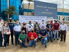 Magazine de Noticias Boanerges Gonçalves: Dia de Doação de Máscara para a Prefeitura Municip... Rotary Club, Make A Donation, Town Hall, City