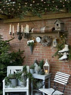 Spend the Christmas holidays outdoors and present your guests and passers-by the most beautiful garden in Christmas clothes - Garten und Gartendeko -