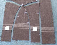 Wool Blanket Anorak Pattern: patterns.orgfree.com/jackets3.htm