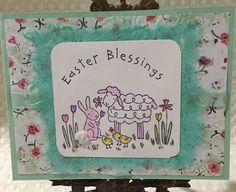 Stampin Up Easter Blessings Card