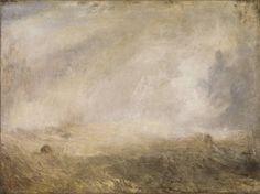 Joseph Mallord William Turner, 'Seascape with Buoy' c.1840