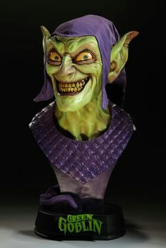 Photo by Trace Jones Marvel Statues, Green Goblin, Comic Books Art, Book Art, Sideshow Collectibles, Character Concept, Concept Art, Poses, Live Action